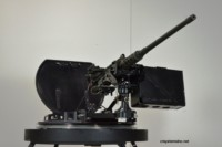 Turret Ring with MK93 MOD4 Gun Mount and .50 cal MG