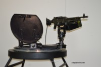Turret Ring with R240 Gun Mount and M240 MG