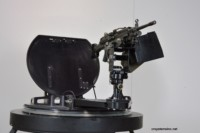 Turret Ring with R240 Gun Mount and M249 MG